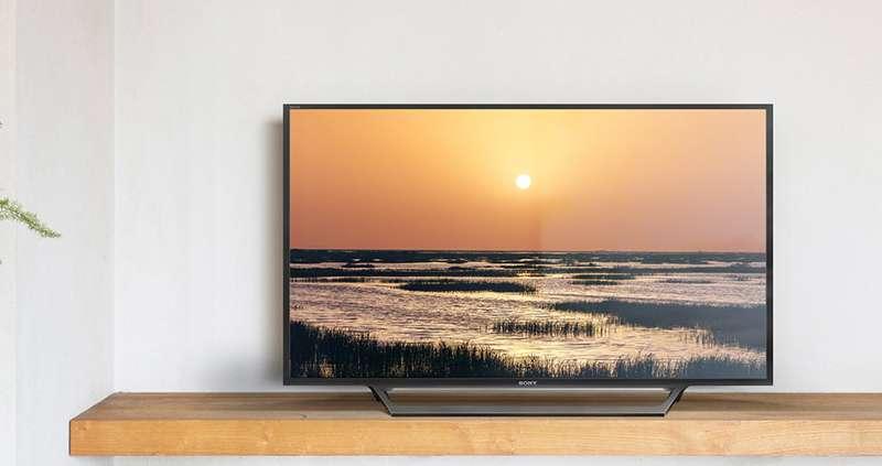 Internet Tivi Sony 40 inch KDL-40W650 - Thiết kế đơn giản hiện đại