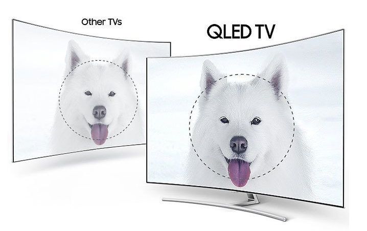 Smart Tivi QLED 4K Samsung QA55Q8CAM HDR