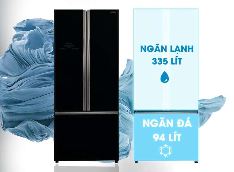 Dung tích tủ lạnh hitachi R-WB545PGV2 (GBK)