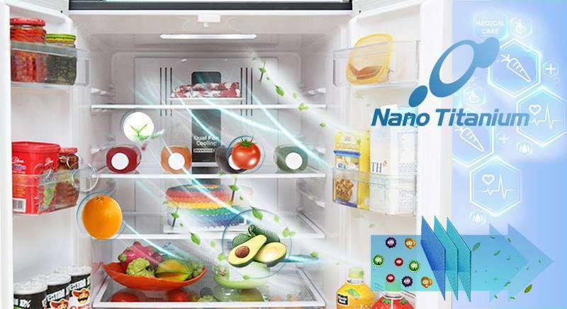 công nghệ khử mùi trên tủ lạnh R-WB545PGV2