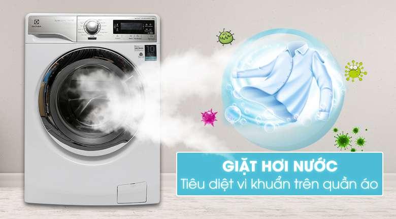 Máy giặt lồng ngang Electrolux EWF14023 chức năng giặt hơi nước