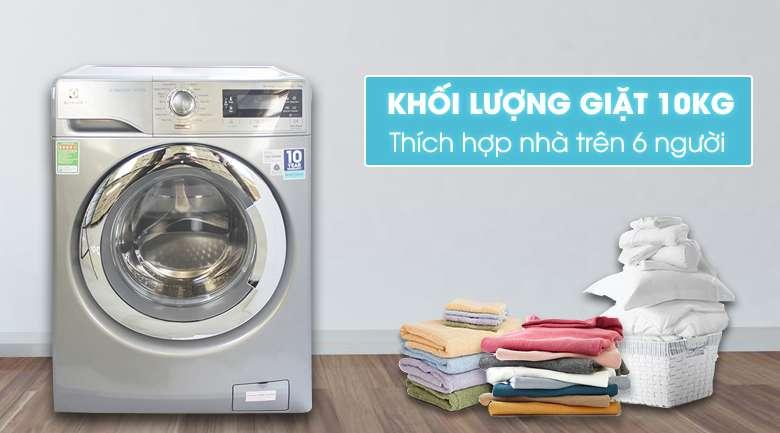 Máy giặt Electrolux EWF14023S thiết kế sang trọng