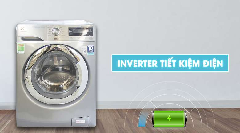 Máy giặt Electrolux EWF14023S tiết kiệm điện hiệu quả