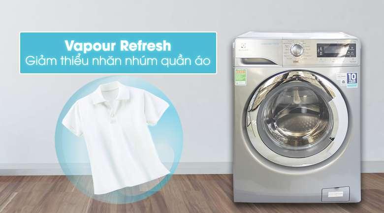 Máy giặt Electrolux EWF14023S giảm thiểu quần áo nhăn