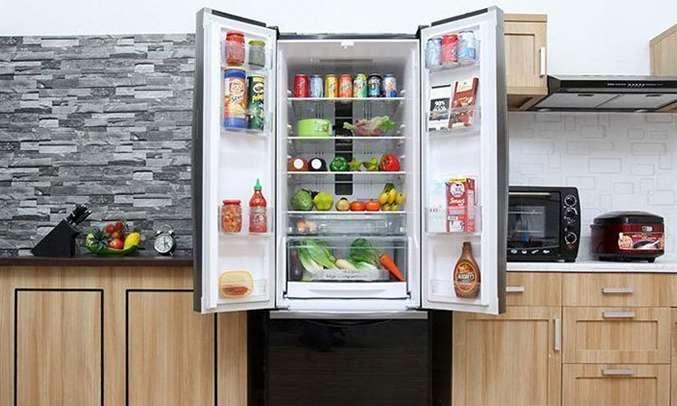 Tủ lạnh Hitachi 382 lít R-WB475PGV2-GBK hệ thông quạt kép