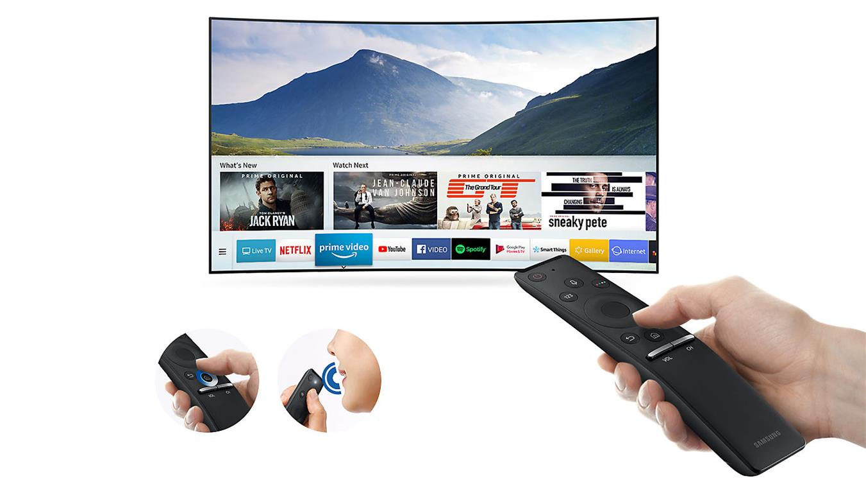 Smart Tivi Cong 4K Samsung 65 inch 65NU7500 one remote