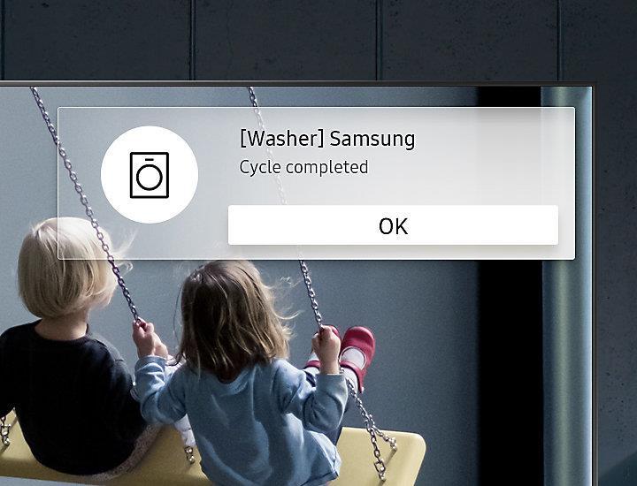 Smart Tivi Cong 4K Samsung 65 inch 65NU7500 thông báo