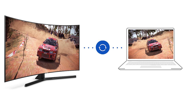 Smart Tivi Cong 4K Samsung 65 inch 65NU7500 Steam link