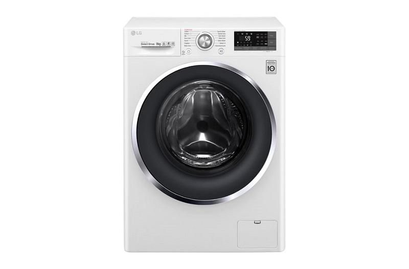 Máy giặt LG Inverter 9 kg FC1409S3W thiết kế đẹp