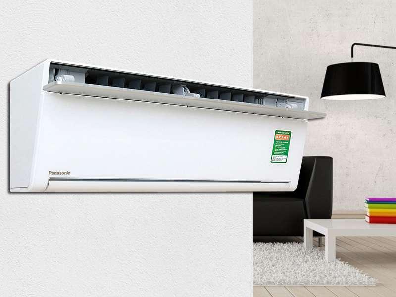 Điều hòa 2 chiều Panasonic Inverter 9000 BTU CU/CS-VZ9TKH thiết kế sang trọng