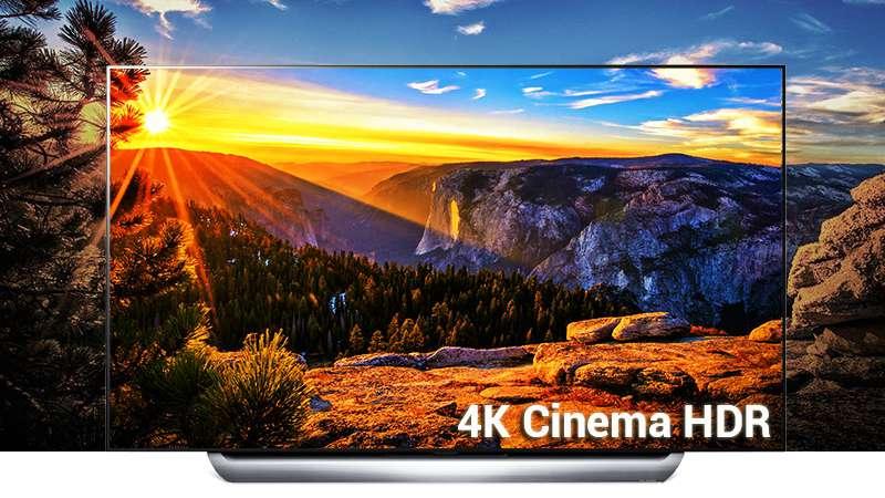 Smart Tivi OLED LG 4K 55 inch 55C8PTA  HDR cinema