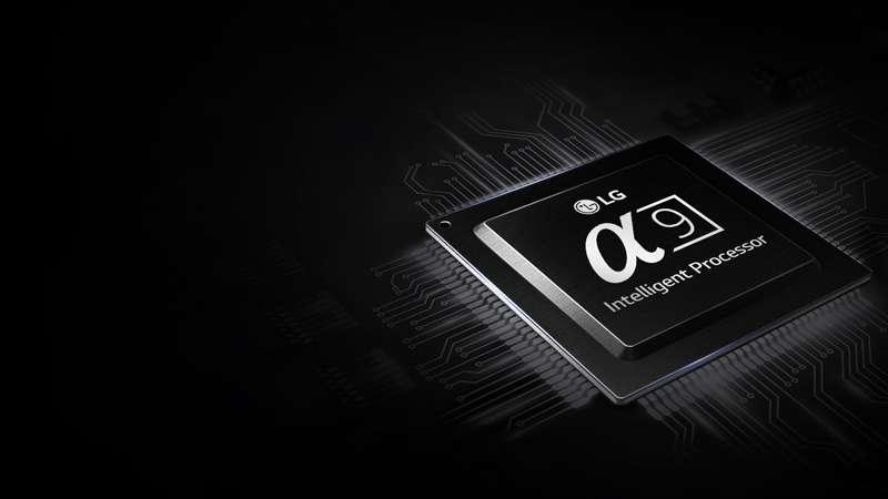 Smart Tivi OLED LG 4K 55 inch 55C8PTA  Chip xử lí A9