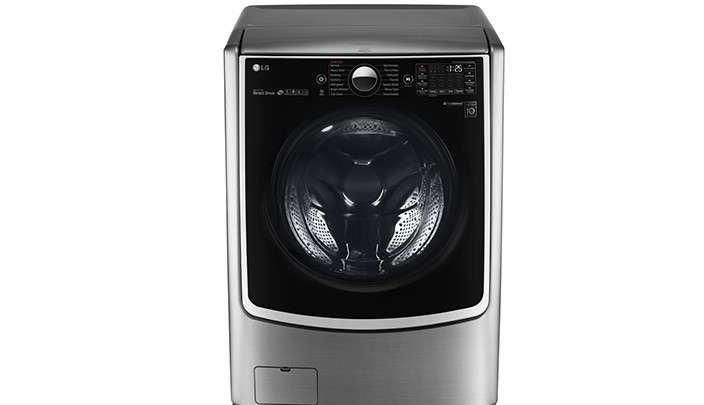 Máy giặt sấy LG 21 kg F2721HTTV thiết kế đẹp mắt