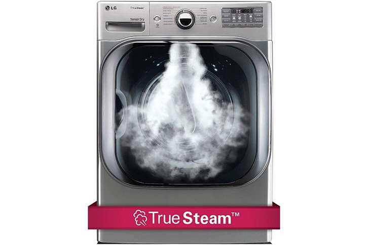 Máy giặt sấy LG 21 kg F2721HTTV Công nghệ giặt hơi true stream
