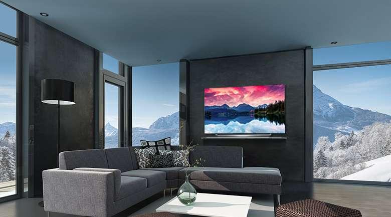 Smart Tivi OLED LG 4K 65 inch 65C8PTA thiết kế hiện đại, sang trọng