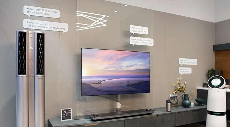 Smart Tivi OLED LG 4K 65 inch 65C8PTA trí thông minh nhân tạo